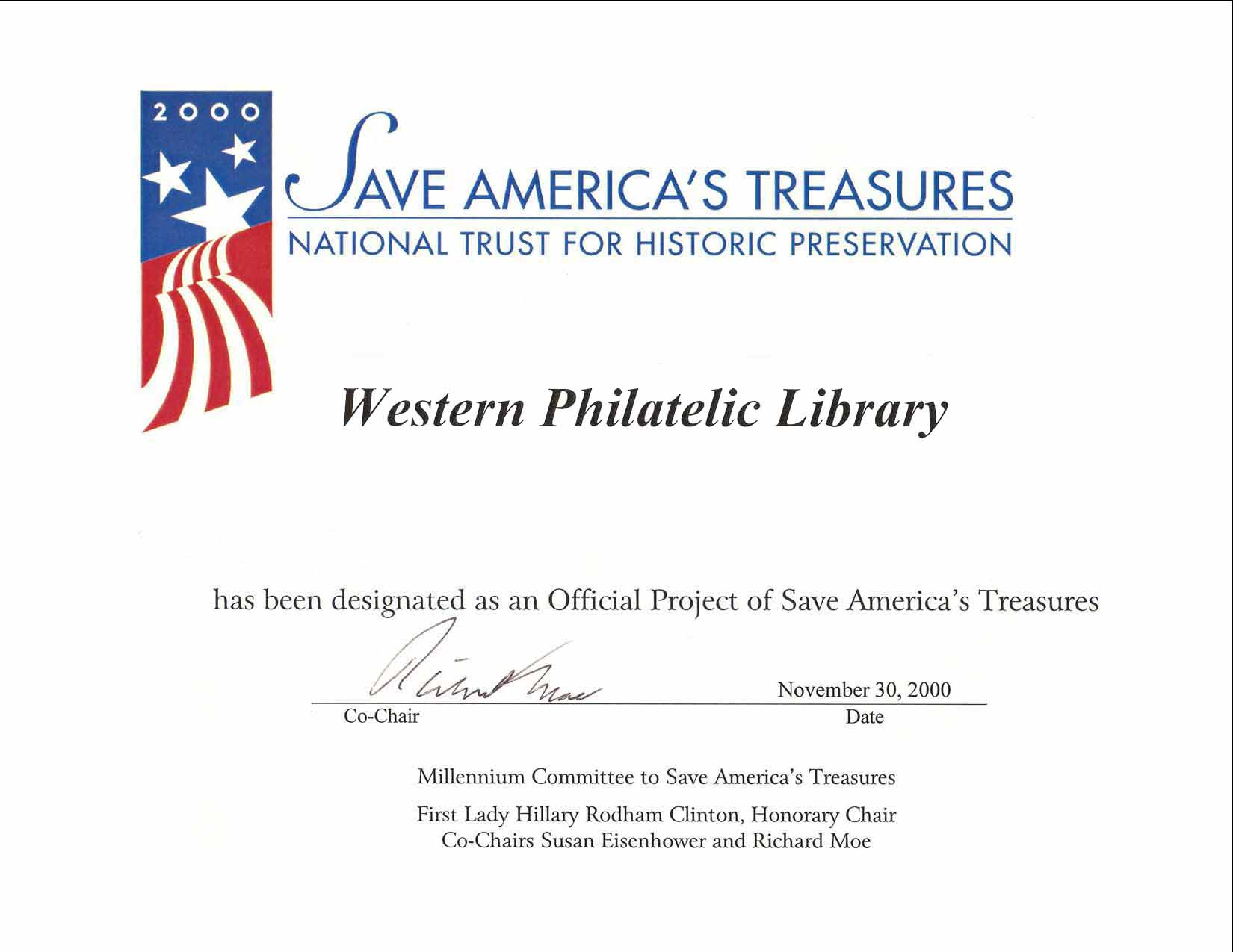 The New Western Philatelic Library
